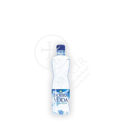 neperlivá dobrá voda 0,5l