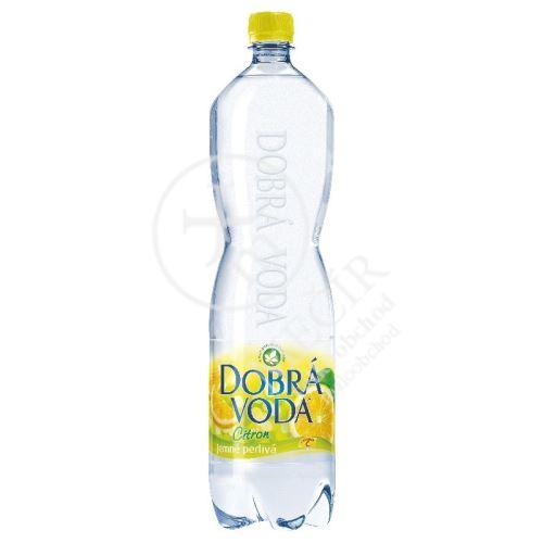 dobrá voda citron